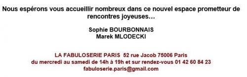 fabuloserie paris,galerie d'art brut,marie-rose lortet,michaël golz,sophie bourbonnais,marek mlodecki,philippe lespinasse