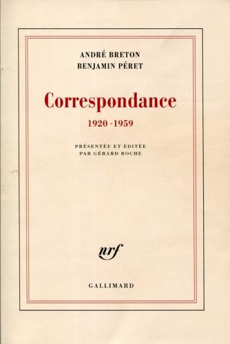 AB-Benjamin Péret Correspondance couv.jpg