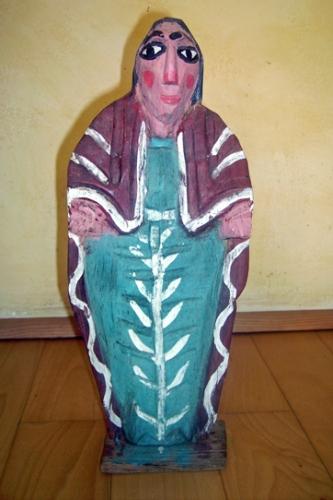 Statuette anonyme sans indication d'origine, une Madone? Photo Laurent Le Meur.jpg