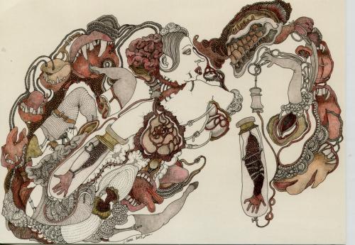 csn 53,art naïf,art singulier,paul amar,joseph pépé vignes,musée des arts buissonniers,musée-école de la perrine,douanier rousseau,fabuloserie,renaud-dampel,victor hugo décorateur,hauteville house,ursula bluhm,galerie les yeux fertiles