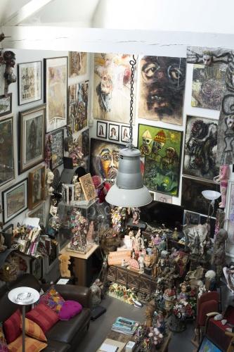 art et marges,collection marion et ludovic oster,le cœur au ventre,poupées,monique vigneaux,néo-expressionnisme,art singulier,art brut,anonymes,art populaire,caroline dahyot,bruno montpied