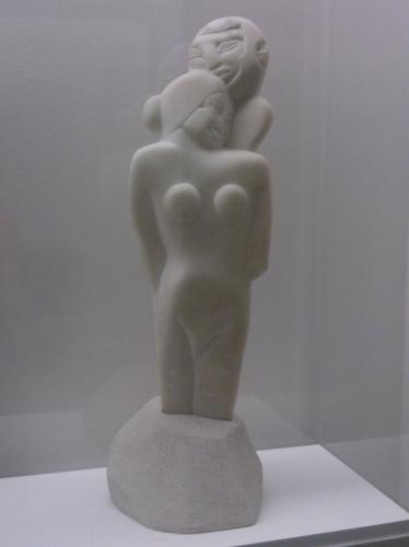 Henri Gaudier-Brzeska (1891-1915), Samson et dalilah (1913), don Ezra pound.jpg