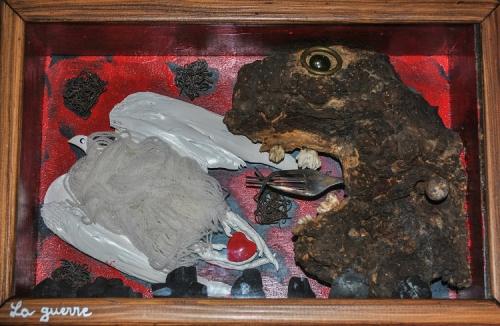 jean veyret,art d'assemblage,théâtre d'objets,boîtes à mise en scène d'objets