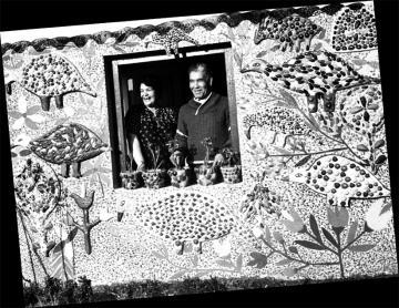 Abdelkader Rifi et sa femme, Gagny, photo provenant du blog d'Art et Déchirure.jpg