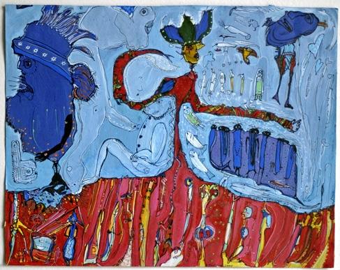 Bruno Montpied, Sur la terre comme au ciel,2000.jpg