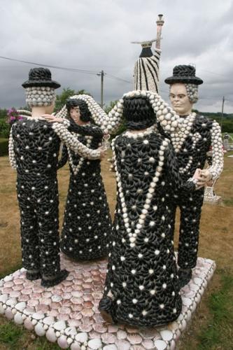 Pierre Darcel,Les 4 danseurs et le dos de la Statue de la Liberté, ph. Bruno Montpied, 2010.jpg