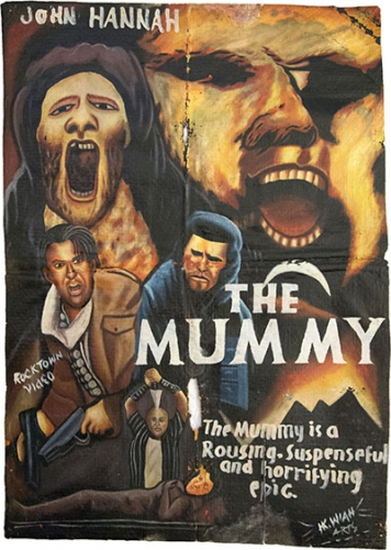 poster 2 du Liberia, HK Wiah Arts, la Momie.jpg