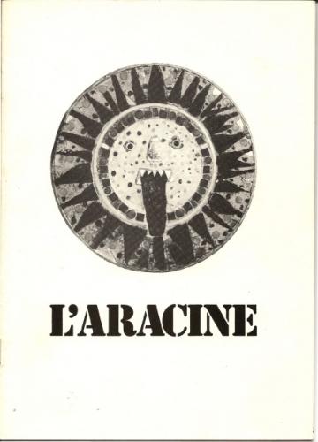 Couverture de la plaquette sur Virgili, éditions L'Aracine, 1984.jpg