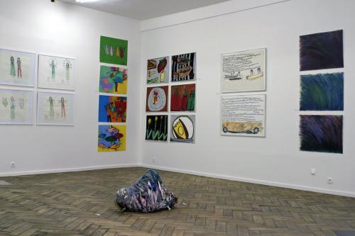 Vue d'une partie de l'exposition Untitled à la Galerie Impaire en juin 2008, ph B.Montpied.jpg