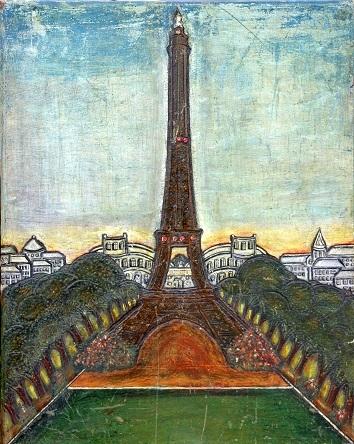 Anonyme, Tour Eiffel,(2) XXe,vue depuis le Trocadéro.jpg
