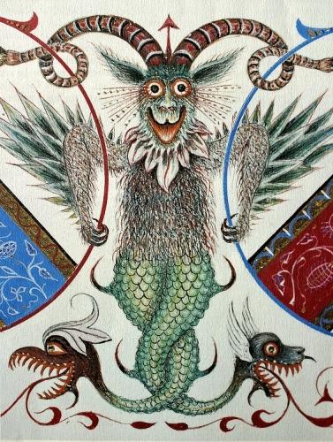 Augustin Gonfond, monstre d'aspect satanique, extrait de l'Ouro de Santo Ano, 1904 (2).jpg