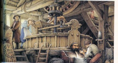 Déversoir de moulin, ill Philippe Fix Il y a cent ans déjà.jpg