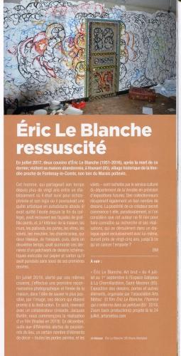 Eric Le Blanche ressuscité (BMontpied), Artension n°156, juil-août 19.jpg