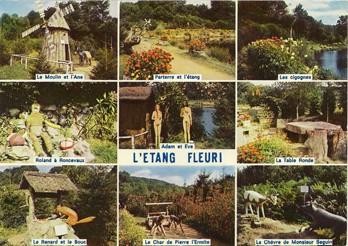 Carte postale,L'étang fleuri, éd. Cap-Théojac, années 1970.jpg