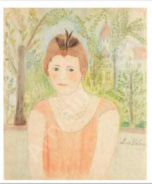 lucie valore, maurice utrillo, peintres de montmartre, bl. mouron, art naïf, anonymes de l'art naïf, réderie d'Amiens
