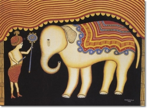 Morris-hirshfield-baby-elephant-with-boy-1943-approximate-original-size-32x44.png