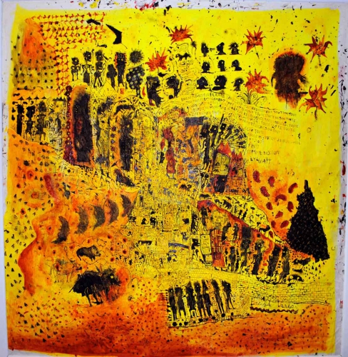 la s grand atelier,art des déficients mentaux,trisomiques,marcel schmitz,mixité outsider et art contemporain,abcd,eric derkenne,gustavo giacosa,la maison rouge,cités imaginaires,galerie agnès b.,coco fronsac,andré breton,la maison de verre