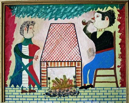 Bepi Donal, peinture sans titre, ph.B.Montpied, 2008.jpg