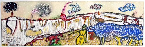 B.Montpied, Les nuages peintres,la neige peintre, le paysage peintre, 1996.jpg