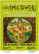 Parcours avec Jean Smilowski, affiche,Lille, oct 09.jpg