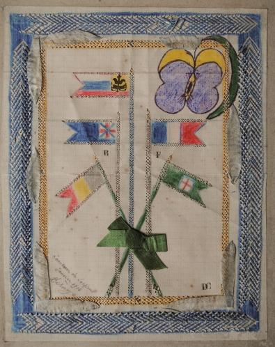 C. Desage,-Souvenir-de-soissons,-janvier-1916,-22x18cm, collage, tressage, découpage et crayons sur papier  (2).jpg