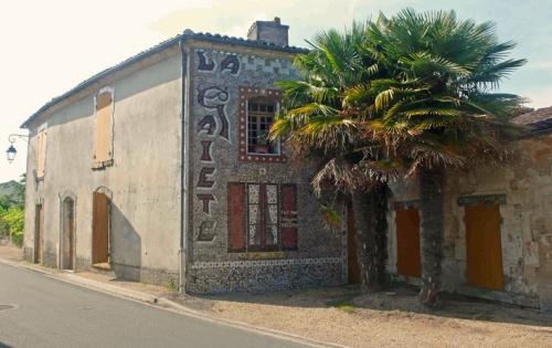 maison en mosaïque de chérac,ismael et guy villéger