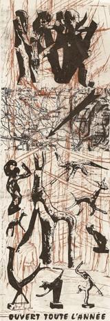 Verso de l'affichette Fantastique dans la nature de Marcel Noël, 1993.jpg