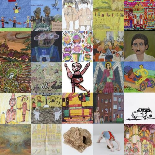 Collectionneurs turbulents, l'art brut polonais 2017.jpg