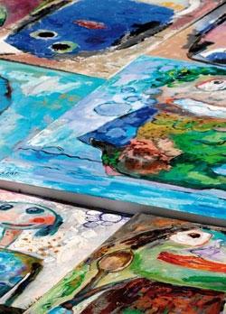 Quelques peintures d'Andrée Acézat, Forum des Arts et de la Culture de Talence, 2010.jpg