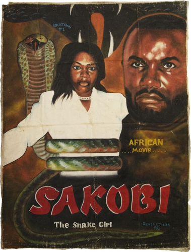 Poster 3 du Liberia George S..Josiah Sakobi la fille serpent.jpg