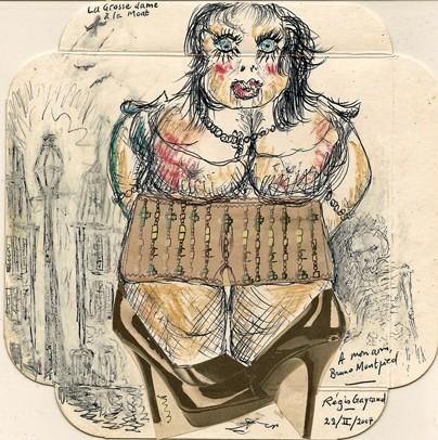 Régis Gayraud, La bonne femme à la mort, 2007.jpg