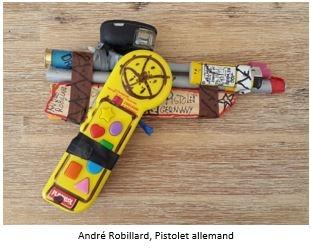 andré robillard,galerie polysémie,manipulation de l'art brut,art contemporain (de merde)