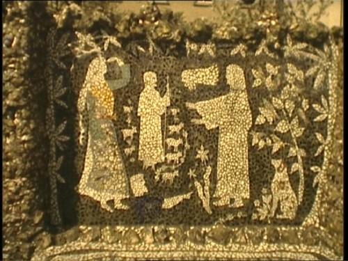 PicassietteJPEG, scène du Nouveau Testament en silhouettes blanches, Les J de l'AI, 1981.jpg