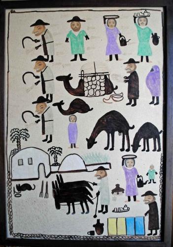 babahoum,essaouira,escale nomad,philippe saada,galerie six elzévir,darnish,art brut marocain,art populaire contemporain,art immédiat