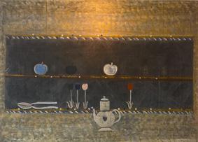Louttre B.,(2) Le Café de Syta, 1974, h sur contreplaqué, 78x107cm, Le 3e oeil.jpg