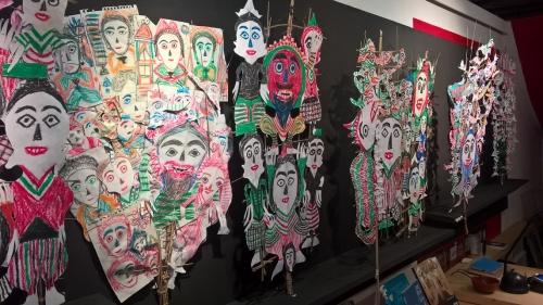 galerie patricia dorfmann,ni tanjung,georges breguet,théâtre d'ombres balinais,art brut indonésien