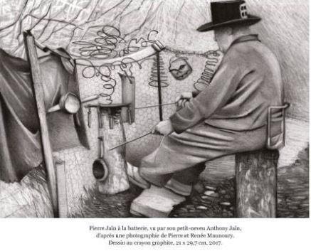 pierre jaïn,benoît jaïn,art brut,art populaire rural,sculpture naïve,art populaire visionnaire,kerlaz,docteur maunoury