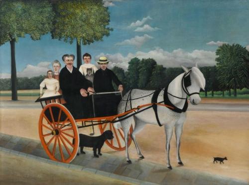 rousseau carriole_pere_junier, musée de l'Orangerie.jpg