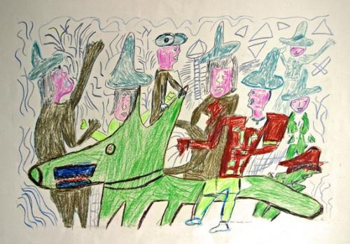 pascal tassini,madmusée,handicapés mentaux,créahm,gérard sendrey,émilie henry,andré robillard,guy brunet,alain moreau,théâtre de villefranche,création franche,art singulier,la passerelle,lucienne peiry,sarah lombardi,guo fengyi,gregory blackstock,philippe lespinasse,rouleaux magiques éthiopiens