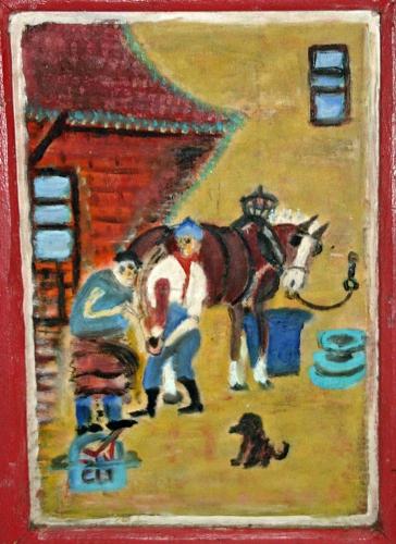 collections d'art populaire,art naïf,honoré levasseur,périgord,merveilleux populaire,mondes parallèles,passerelles