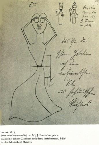 Oskar Panizza,Deux seins commandés..., dessin vers 1906.jpg