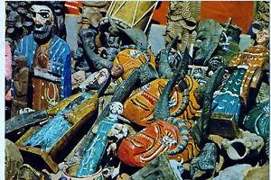 art populaire guatémaltèque,chichicastenango,laurent le meur,jean-marie chapeau,statues propitiatoires,vierge marie et saint joseph,art modeste