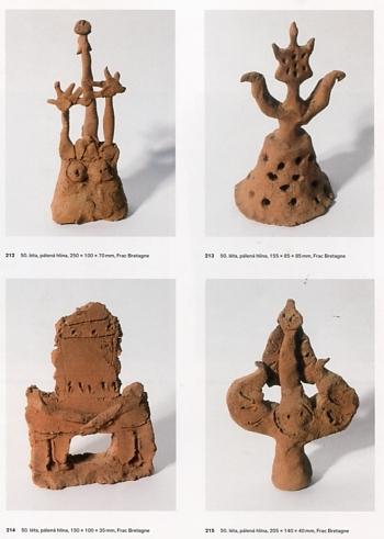 jan krizek,anna pravdova,bertrand schmitt,narodni galerie,prague,surréalisme d'après-guerre,art brut,archaïsme dans l'art,recoins n°3