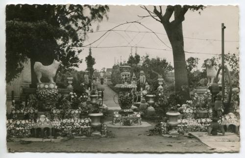 Le Jardin du cuirassier à Bou, Loiret (années 50) (2).jpg
