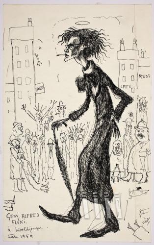 le génie Alfred Floki à Kvoldgongu.. fév 1959, 30,5x18,5cm.jpg
