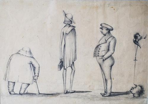 Anonyme, sans titre, sans date, dessin au crayon sur papier,(2) ptêt XIXe siècle.jpg