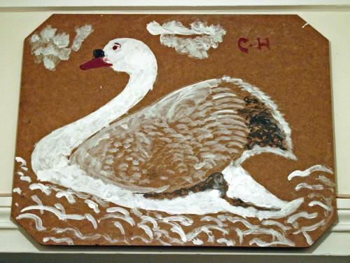 Cénéré Hubert,Sans titre, peinture sur contreplaqué, coll. privée, Paris, ph.Bruno Montpied.jpg