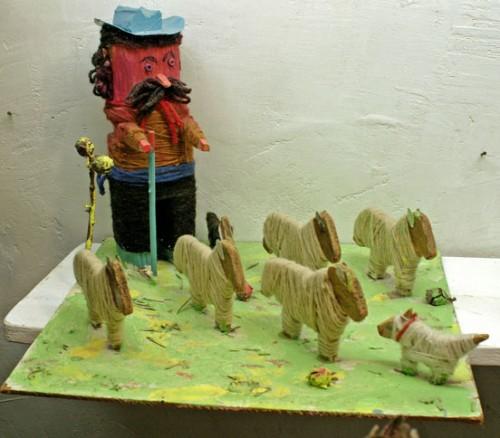 Roger-Beaudet,le berger (peut-être auvergnat) et son troupeau, musée les Amoureux d'Angélique, été 208, ph. B.Montpied.jpg