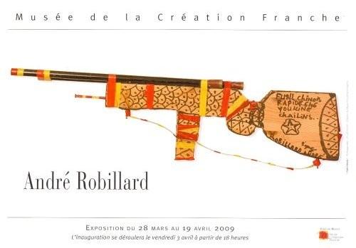 Invitation à l'exposition André Robillard au musée de la création franche, 2009.jpg