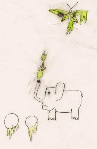 Eléphant, (copie) Coli, 2011.jpg